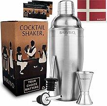 Professionelles Cocktail Shaker Set mit Doppeltem