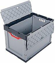 Profi-Faltbox mit Deckel 2er Set Auer Faltbox, FBD