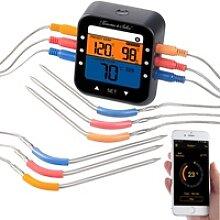 Profi-Grillthermometer mit Bluetooth und App,