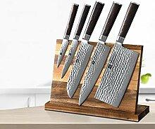profi messer 6 stücke Damaskus Stahlmesser Sets