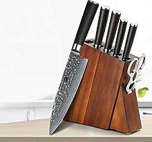 profi messer 7 stücke Küchenmesser Set Damaskus