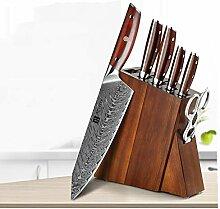 profi messer 7 stücke Küchenmesser Sets Damaskus