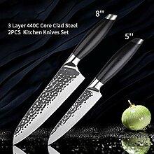 profi messer Küchenmesser 3 Schicht-Schmiedestahl