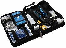 Profi Netzwerk Wartung Werkzeug Set Computer Repair Kit 568Net Zange/Kabel tester/KD–1Drahtschneider