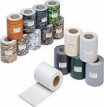 Profi Qualität PVC Sichtschutz-Streifen, Zaunblende, Folie, Doppelstabmatten, Zaun, Zaunfolie (70 Meter = 2 x 35 Meter, Ziegelstein-Optik)