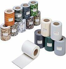 Profi Qualität PVC Sichtschutz-Streifen, Zaunblende, Folie, Doppelstabmatten, Zaun, Zaunfolie (35 Meter, Hellgrau)