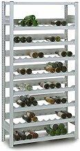 Profi Weinregal aus Metall für 133 Flaschen,
