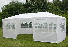 Profigarden - Pavillon in Weiß - (B)300 x (H)250