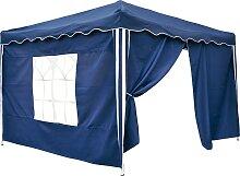 Profigarden - Pavillon-Seitenteile in Blau