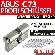 Profilkurzzylinder mit Not- und Gefahrenfunktion C 73, 28/34, 5 Schlüssel