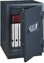 Profirst Versal Fire 65 Feuerschutztresor ECB S FS60P, Dokumentenschrank, Tresor, Elektronikschloss, Zertifizierter Möbeltresor