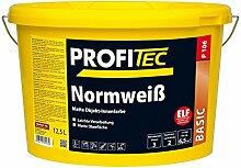 ProfiTec Normweiß 12,5 Liter professionelle Wandfarbe