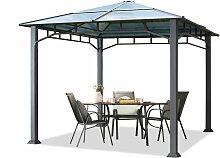 Profizelt24 - Gartenpavillon 3x3 m Aluminium