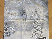 Proflax Kissenhülle Schneewald 50x50cm