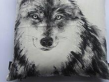 Proflax Kissenhülle Wolf Gimo 50x50