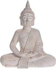 ProGarden Buddha Gartenfigur Sitzend 41x23,5x49 cm