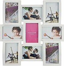 proheim Bilder-Rahmen Wave 45 x 45 cm in Weiß