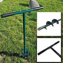 PROHEIM Hand-Erdbohrer 100 cm aus Stahlrohr Ø22