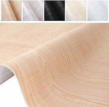 ProHous Holz Möbelaufkleber Klebefolie Tapete
