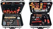 Projahn 8683 Werkzeugkoffer ELEKTRO 128-tlg. ,