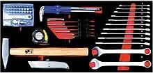 Projahn schlüssel und Werkzeug Einlage 61-teilig