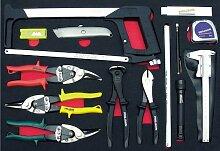 Projahn Schneid- und Messwerkzeug Einlage 27-teilig 5999-181