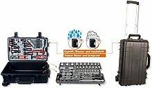 Projahn Werkzeugtrolley Set 83-teilig wasserdicht und staubdicht 4964-01
