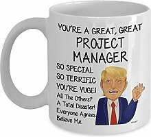 Project Manager Coffee Mug - Funny Gifts For Men