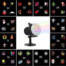 Projektionslampe 12 Muster LED Projektor Licht