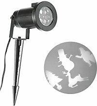 Projektor LED-Weihnachtsfigur.