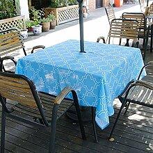 PROKTH Outdoor Tischdecke, Wasserdicht Spillproof