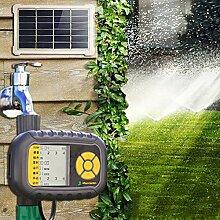 PROKTH Solarbetrieben Wasser Timer Garten