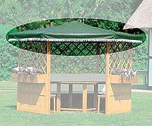 PROMADINO Ersatzdach für Pavillon MARBURG grün 372/43