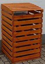 promadino Mülltonnenbox, für 1x120 l aus Holz,