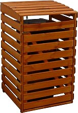 promadino Mülltonnenbox, für 1x240 l aus Holz,