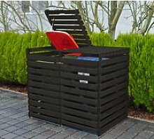 promadino Mülltonnenbox Vario V, für 2 x 240 l,