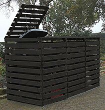 Promadino Mülltonnenbox Vario V Müllbox für 3