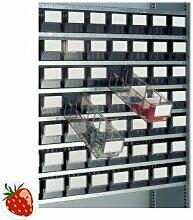 PROMAT 448990 Trennwand transparent Kasten-B.91mm f.Lagerbox PROMAT 10St./VE