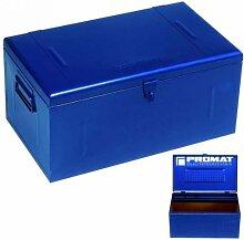 PROMAT 871202 Stahlblechkoffer blau 830x440x340mm