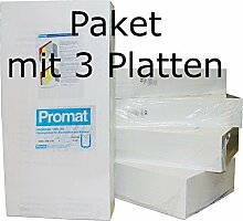 Promat PROMASIL 950-KS 40mm 3xWärmedämmplatten Brandschutz A1 DIN 4102