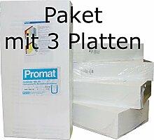 Promat PROMASIL 950-KS 80mm 3xWärmedämmplatten Brandschutz A1 DIN 4102
