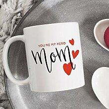 Promini Kaffeehaferl Sie Sind Mein Held Mama