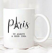 Promini Paris Becher Geschenk FüR Paris Liebhaber