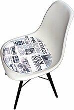 Promo 1 Kissen Kunstleder geeignet für Stuhl Stil Eames mobistyl® mc-padsm-1 News