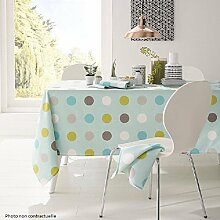 PROMOFLASH83 Calitex Wachs-Tischdecke Pop Dots,