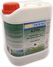 Promotionset dinotec Nova Crystal Chlorfrei 3,0l Alpha & 3,0l Omega Langzeitwasserpflege 31,17€/L
