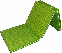 Prosanvita Klappmatratze in grün, ideale