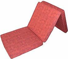 Prosanvita Klappmatratze in rot, ideale