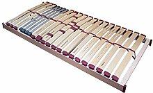 Prosanvita Lattenrost Ripa XXL nv, belastbare stabile Ausführung, verstellbare Mittelzone, für jeden Matratzentyp geeignet, Größe: 140x220 Sondermaß*