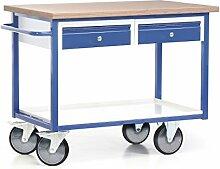 Protaurus Fahrbare Werkbank mit 2 Schubladen